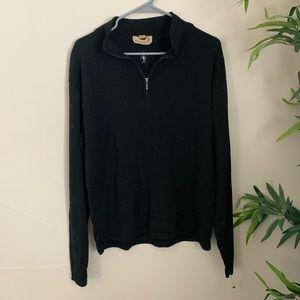 Smartwood▪️1/4 zip Merino wool Sweater. M/L